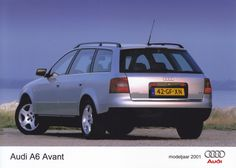 Audi A6 Avant (Dutch, model year 2001)