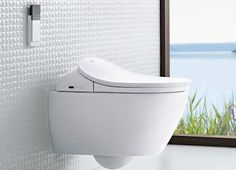 REUTER Shop recommends: Villeroy & Boch Subway wall-mounted washdown toilet DirectFlush with toilet seat Combi-Pack white, with CeramicPlus ✓ with Best Price Guarantee.