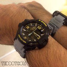 Wrist-shot of my newest (02/25/15) G-Shock The GA-1000-8A...  My latest Gravity Defier G-Shock!