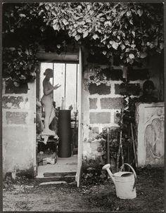 Brassaï, L'atelier d'Aristide Maillol à Marly-le-Roi