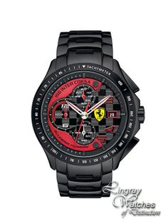 ef83552661b Scuderia Ferrari - Mens Carbon Coated Stainless Steel Watch - 0830086 Online  price  £395.00