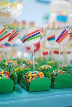 festa aquarela,festas criativas,temas criativos,festa colorida,festa unissex,festa de menino,ideias para festas,festas infantis,festas lindas,inspire sua festa