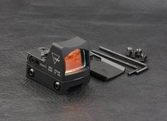 Hunting shooting mini rmr style 1x red dot sight scope for picatinny rail and glock base mount M9410