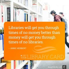 50 thought-provoking quotes about libraries and librarians / @ebookfriendly | #libraries #librarians #thrilledbythoughts