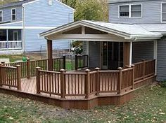 Image result for covered deck