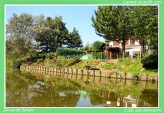 CrabeCanoë: Jardins au bord de  l'eau.