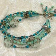 Beautiful multi strand bracelet! by jamie_1