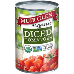 Muir Glen Canned Tomatoes, Organic Diced Tomates, Fire Roasted, No Sugar Added, Ounce Can (Pack of Vegetables With Iron, Vegetables For Diabetics, High Fiber Vegetables, Organic Vegetables, Organic Pizza, Organic Soil, Organic Farming, How To Peel Tomatoes, Grow Tomatoes