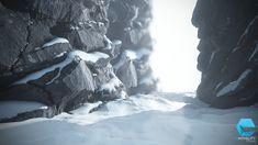 ArtStation - Snowy Rock, Enrico Tammekänd