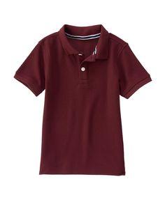 Pique Polo Shirt at Gymboree