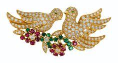 Bird Jewelry, Jewelry Design, Egyptian Scarab, Van Cleef Arpels, Global Art, Flower Pendant, Pendant Earrings, Love Birds, Art Market