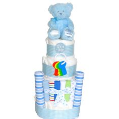 Its a Boy Baby s Diaper Cake