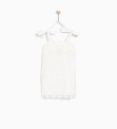 ZARA - KIDS - STRAPPY GUIPURE LACE DRESS WITH BOWS