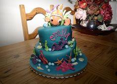 Finding Nemo cake, by Denise Pitt