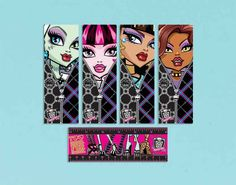 Monster High Bookmarks | 12ct