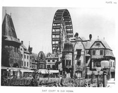 Image 12 of 16 from gallery of AD Classics: World's Columbian Exposition / Daniel Burnham and Frederick Law Olmsted. Courtesy of Wikimedia user RillkeBot (Public Domain) Ferris Wheel Chicago, Daniel Burnham, World's Columbian Exposition, German Village, White City, World's Fair, Old Pictures, Vienna, Paris Skyline