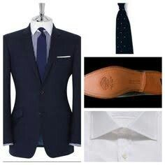 ac57c80e6084 Bespoke Suit, Bespoke Tailoring, Tm Lewin, Drake London, Armour, Style Ideas