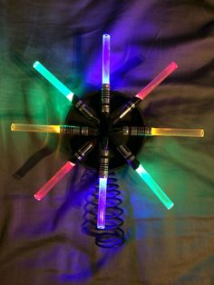 Star Wars - Lightsaber Tree Topper - Album on Imgur