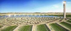 Автономные «зелёные» поселения :: Новости :: Искусственный «лес» в пустыне по верблюжьим мотивам