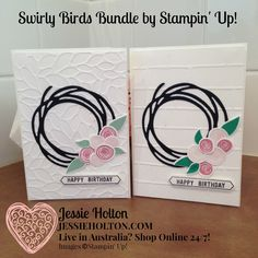 Jessie Holton, SU Demo Aust. Live in Australia? Shop Online with me 24/7! #SwirlyBird for #CrazyCrafters Blog Hop with #ValerieMoody by #JessieHolton #StampinUp