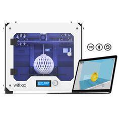 De Witbox werkt met open source software, waaronder Cura.  Meer weten of de Witbox 3D printer kopen: https://www.bits2atoms.nl/3d-printers/bq-witbox-zwart of https://www.bits2atoms.nl/3d-printers/bq-witbox-wit