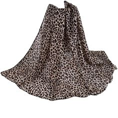 Écharpe femme,Transer ® Élégant femme long écharpe châle Paris filé léopard  imprimé foulards (A)  Amazon.fr  Vêtements et accessoires 6aac5935428