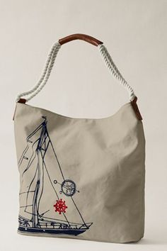 I clearly need more bags with sailboats on them.
