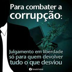Contra corrupção!