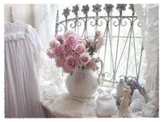 1000 images about shabby details on pinterest birdcages wooden tool boxes and shabby chic - Lamparas estilo shabby chic ...