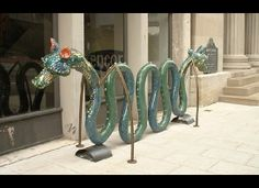 artistic bike racks in europe   FEATURE ON TREND BLAST Contact SHOP
