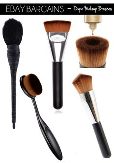 bareMinerals Perfecting Face Brush Dupe RRP £24.00 (£1.38 - eBay here)This is a brush I already own and it has to be one of my most unique brushes with the foundation reservoir to the centre of it. Th
