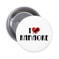 I Love Karaoke Button