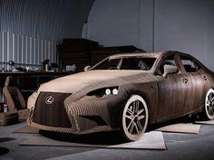 Lexus Origami Car, un'auto ecologica fatta di cartone!