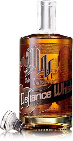This high-rye bourbon is aged in large oak barrels forged by Missouri coopers.