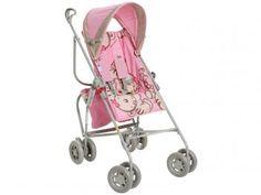 Carrinho de Bebê Passeio Galzerano - para Crianças até 15kg