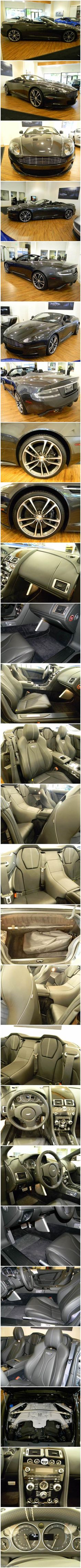 Aston Martin DBS Volante Convertible 2D