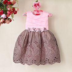 Pink Scalloped Toddler Girl Dress - Easter Toddler Dress - Girl Easter Dress - Photo Shoot - Birthday - Pink Dress - Summer - Sun Dress Girl by MJfordiva on Etsy