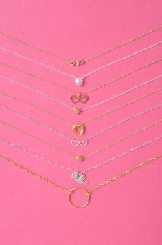 WE love #charm necklaces #dogeared charms are the cutest!