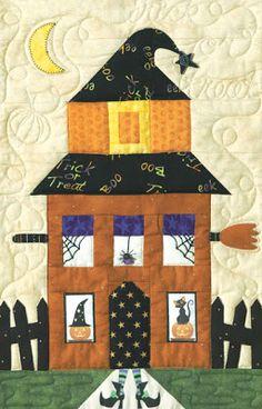 quilt pattern spider web Vintage Crafts and More - Halloween Spider Web Quilting Pattern ...