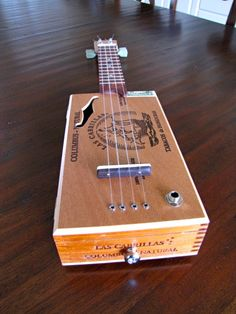 Cigar Box Ukulele by BarefootBoogieGuitar on Etsy