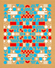 papercut - Geometric and Typographic Patterns