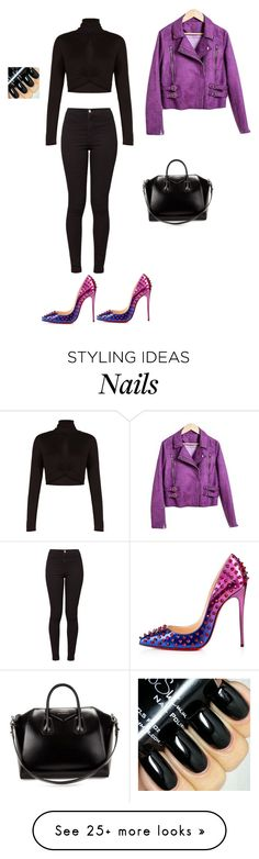 """Cool shoes."" by princesaurbana on Polyvore featuring BCBGMAXAZRIA, Christian Louboutin, American Apparel, Givenchy, women's clothing, women's fashion, women, female, woman and misses"