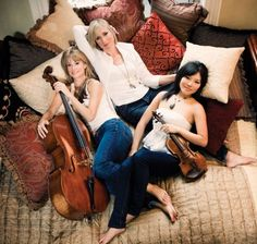 Eroica Trio performing March 17-19 with the Santa Rosa Symphony