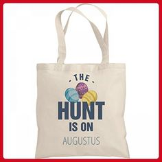The Easter Hunt Is On Augustus: Liberty Bargain Tote Bag - Totes (*Amazon Partner-Link)