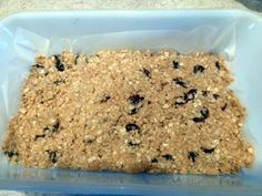 Dr. Oz  - 5 ingredient, no baking, healthy breakfast bars Ingredients for Energy Bars with Dried Tart Cherries 3 TBS honey 1/2 cup peanut butter 1/3 cup dried tart cherries 1 cup quick oats 1 tsp vanilla