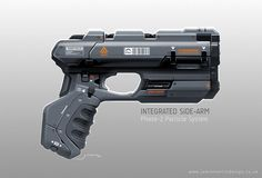 Talk about the latest airsoft guns, tactical gear or simply share with others on this network Anime Weapons, Sci Fi Weapons, Weapon Concept Art, Fantasy Weapons, Weapons Guns, Sci Fi Waffen, Sci Fi Pistol, Space Opera, Future Weapons