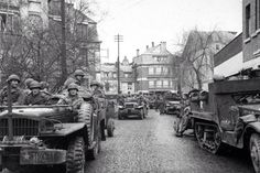 American forces recapture the site where US soldiers were murdered at Malmedy in Dec '44, 13 January 1945.