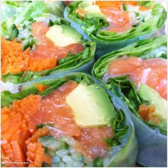 Pacific Salad Roll - reminds me of chilled Vietnamese spring rolls