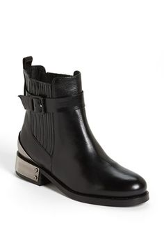 Topshop 'Pago' Boot available at #Nordstrom $300 - Check out the metal heel plates!