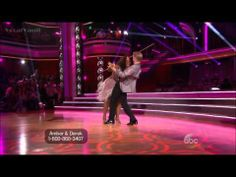Amber Riley & Derek - Cha Cha - DWTS 17 (Opening Night)